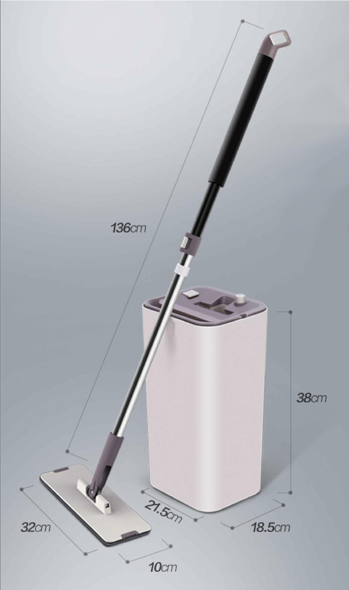 Scopa Flat mop per la pulizia di casa