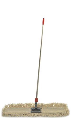 Scopa lineare con manico, telaio e ricambio cm 60