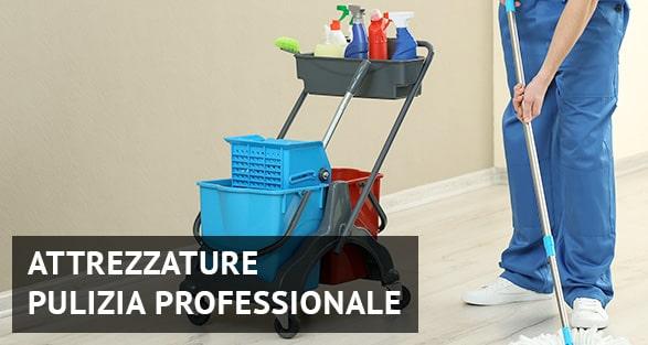 Attrezzature pulizia professionale