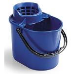 Secchio per pulizie con strizzino (capacità 14 LT)