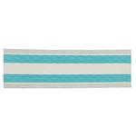Mop pavimenti in microfibra monouso con strisce blu 12 pz.