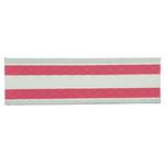 Mop pavimenti in microfibra monouso con strisce rosse 12 pz.