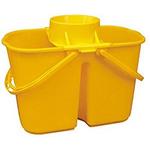 Secchio per pulizie Doppiavasca 15Lt con Strizzino