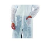 Camice monouso da Laboratorio con tasche - Bianco 50pz