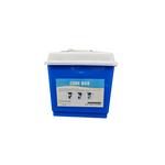Cube box blu con coperchio 4Lt