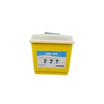 Cube box giallo con coperchio 4Lt