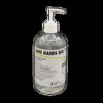 Gel igienizzante mani Safe hands BIO 500 ml 70% alcool